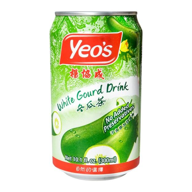 商品详情 - 新加坡YEO\'S杨协成 冬瓜茶   罐装  300ml - image  0