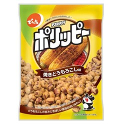【日本直邮】DENROKU天六 烧烤玉米味花生粒 下酒网红零食 67g
