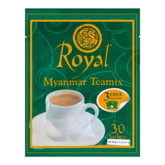 缅甸皇家 泰国风味奶茶 即饮茶包 30包入 600g