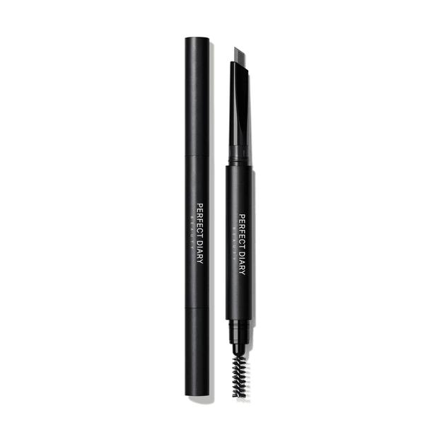 Product Detail - PERFECT DIARY Dual Tip Hexagonal Eyebrow Pencil 01 Natural Gray - image 0