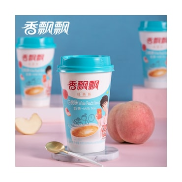 XIANGPIAOPIAO Coconut Milk Tea White Peach Flavor 80g