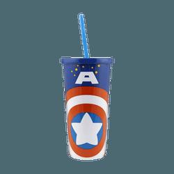 名创优品Miniso 漫威卡通系列冰杯 500ml #美国队长
