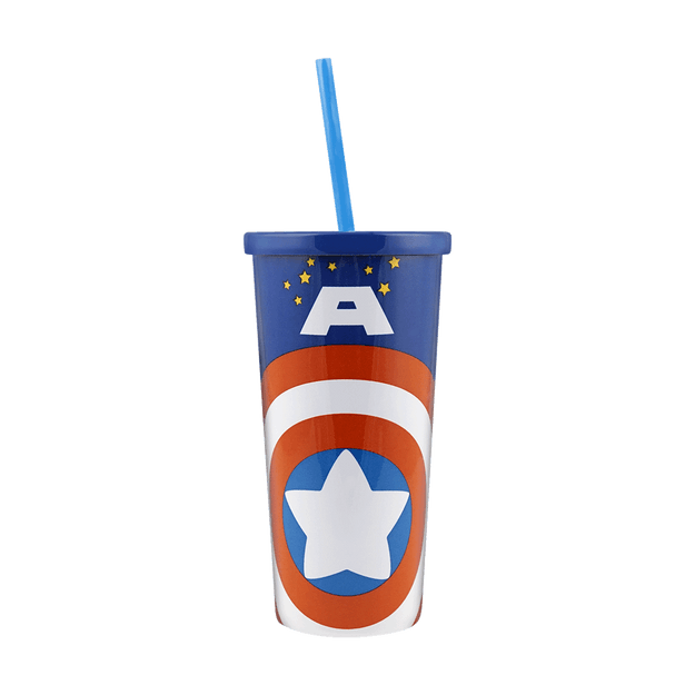 Product Detail - MARVEL Water Tumbler 500ml #Captain America - image  0