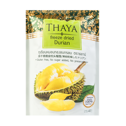 Freeze Dried Durian 40g