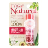 MENTHOLATUM Lip Baby Natural Sweet Cherry 4g