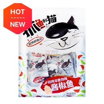 多优多 抓鱼的猫 酱椒鱼 80g