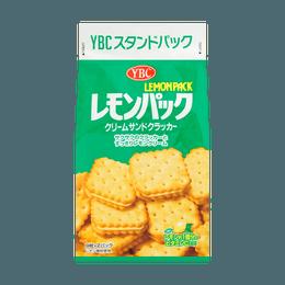 日本YBC 奶油柠檬夹心饼干 167g