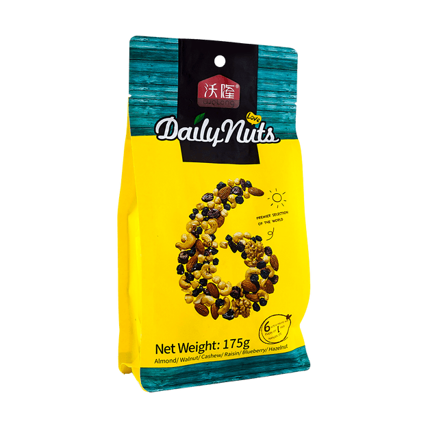 Product Detail - WOLONG Daily Nuts One Week Nuts for Children 25g*7 - image 0