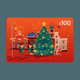 亚米电子礼卡 价值$100
