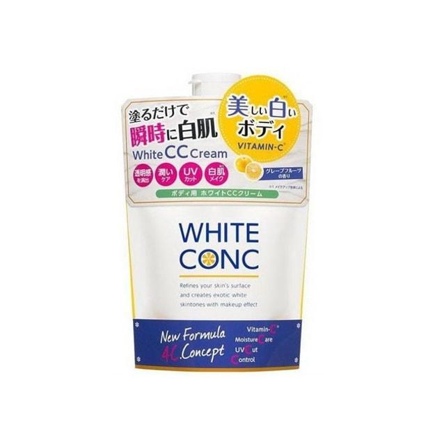 商品详情 - 日本 White Conc 身体美白润肤露CC霜 200g - image  0
