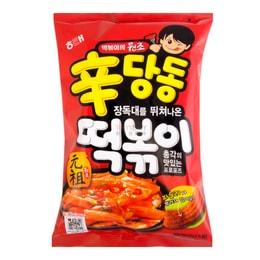 HAITAI Spicy Sindangdong Rice Cake Sticks Snack 230g