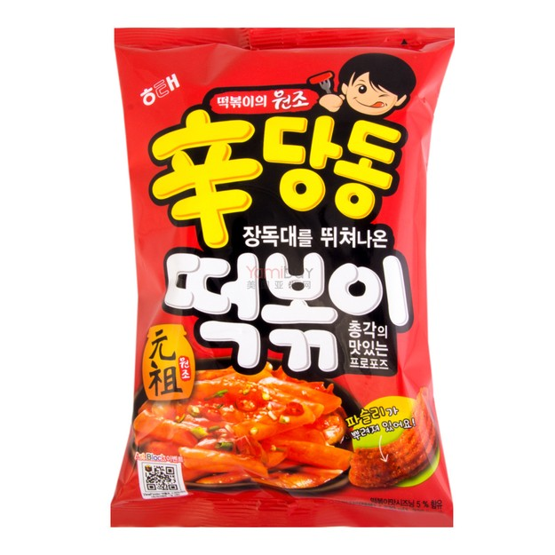 HAITAI Spicy Sindangdong Rice Cake Sticks Snack 230g