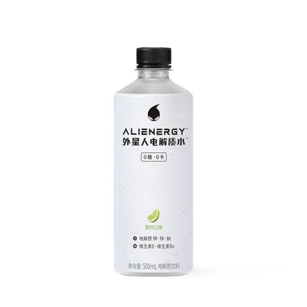 商品详情 - 外星人0糖0卡电解质水 青柠味 500ML - image  0
