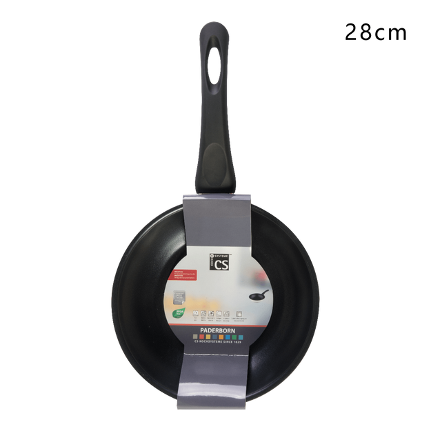 Product Detail - CS KOCHSYSTEME Stainless Steel Fry Pan with Nonstick Coating 28cm Induction Ready - image 0
