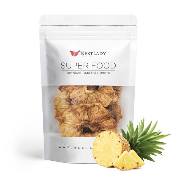 商品详情 - NESTLADY 有机菠萝干 墨西哥种植与收获 70g - image  0