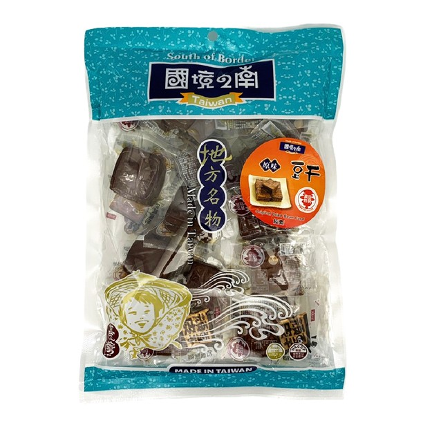 商品详情 - [台湾直邮]得意中华 国境之南 原味豆干 420g - image  0