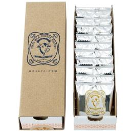 DHL直发【日本直邮】东京牛奶芝士工厂 蜂蜜古冈左拉芝士饼干 10枚装