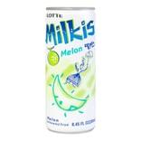 韩国LOTTE乐天 牛奶苏打水碳酸饮料 甜瓜味 250ml