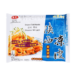 QINZONG Shaanxi Cold Noodle Hot 168g