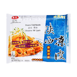 秦宗 正宗陕西凉皮 麻辣味 168g 陕西特产