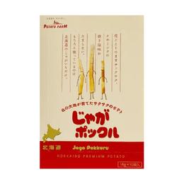 【日本直邮】日本 CALBEE 卡乐B 薯条三兄弟 卡乐比 北海道最具人气伴手礼 10包入