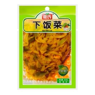 管氏 下饭菜 爽脆味 80g