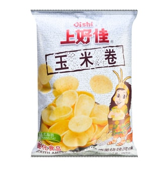 OISHI Sweet Corn Chips South American BBQ Style 90g