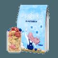 【薇娅推荐】欧扎克 轻食生活 干吃零食 谷物冲饮代餐 水果薄脆麦片 400g