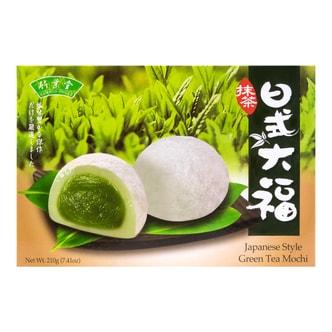 台湾竹叶堂 日式大福麻糬 抹茶味 210g