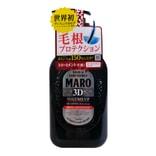 日本MARO 男士3D立体蓬松洗发水 460ml