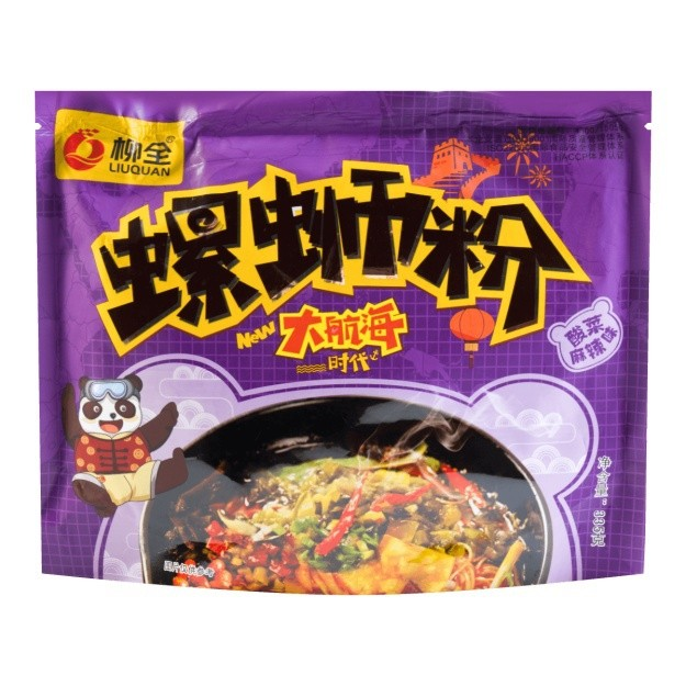 Product Detail - 【UGLEE】LIUQUAN Instant Sour Spicy Noodle 335g Ship from USA - image 0