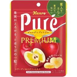 KANRO PURE Apple Gummy 63g