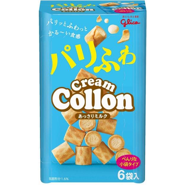 商品详情 - 【日本直邮】Glico格力高Collon可珑奶油蛋卷迷你夹心饼干 6袋 - image  0