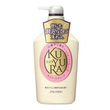SHISEIDO KUYURA  Body Care Soap Revitalizing Floral 550ml