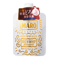 MARO face wash rich whip wash& shave 100g