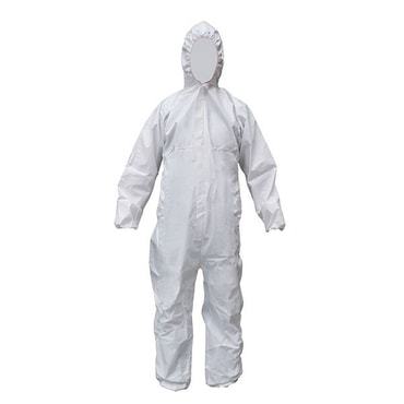 SAFE FIT Cov63 Heavy Duty Coverall Size L 1pc