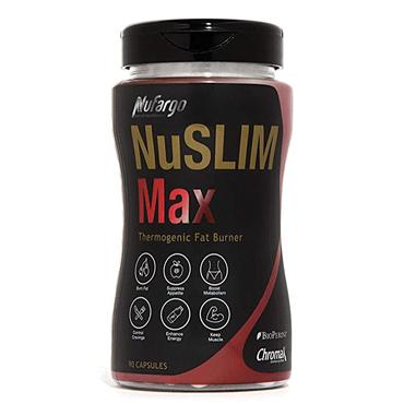 NuFargo NuSlimMax 五合一强效燃脂专利成分配方 90粒胶囊 30日份