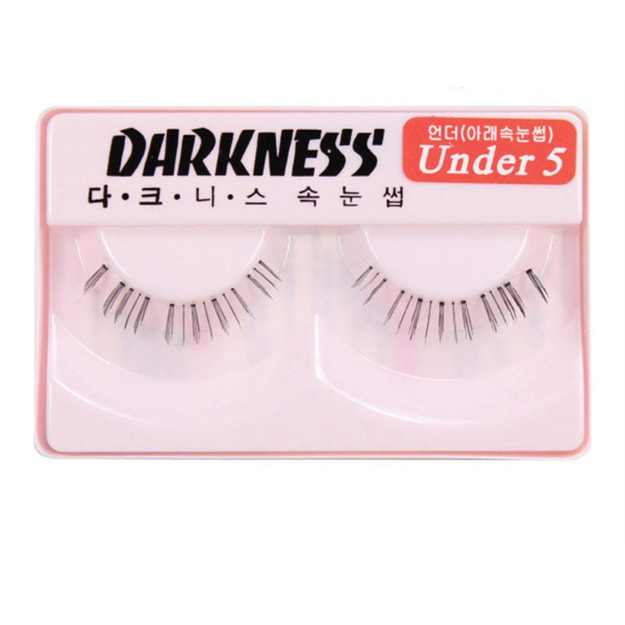 Product Detail - DARKNESS False Eyelashes  Under #5 1Pair In 1Box - image 0