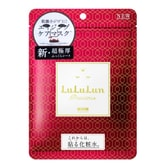 LULULUN Face Mask Precious Red 7sheets