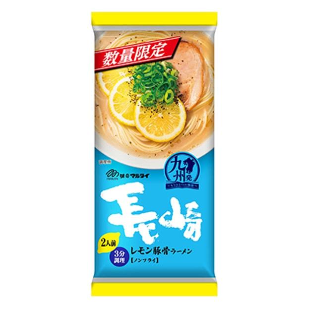 商品详情 - DHL直发【日本直邮】日本MARUTAI 长崎柠檬豚骨拉面 2人份 189g - image  0