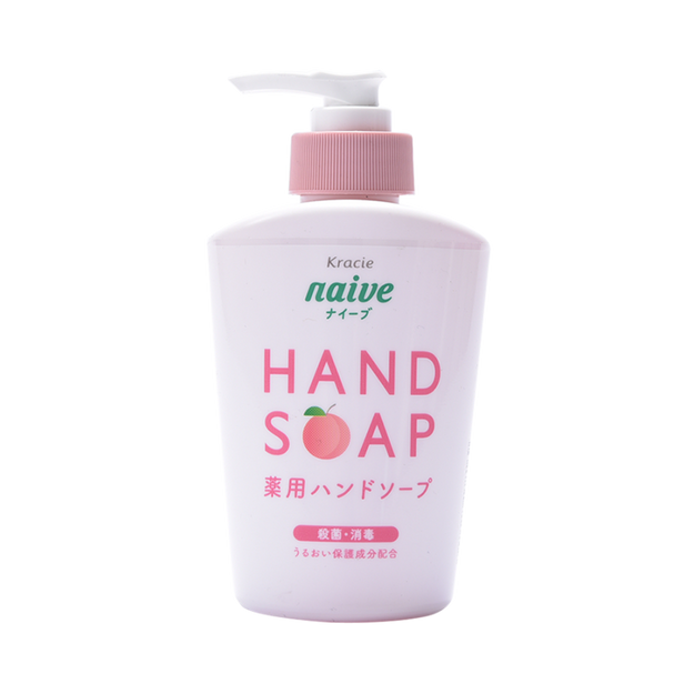 Product Detail - KRACIE Naive Medical  Liquid Hand Soap(Peach)250ml - image 0