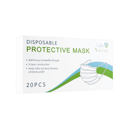 Disposable Protective Face Mask 20pcs BFE≥98%