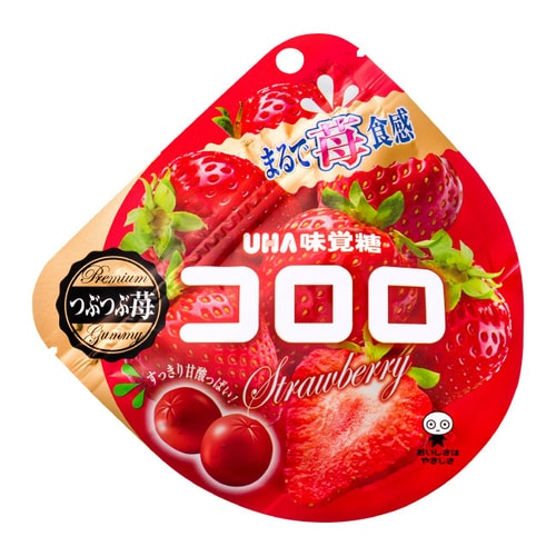 UHA Fruit Candy Strawberry Flavor Winter Limited 40g