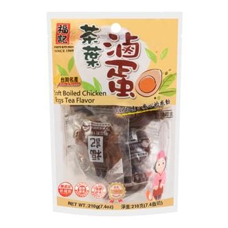台湾福记 茶叶卤蛋 6颗入