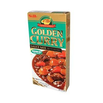 日本S&B Golden Curry 经典日式咖喱块 中辣 100g