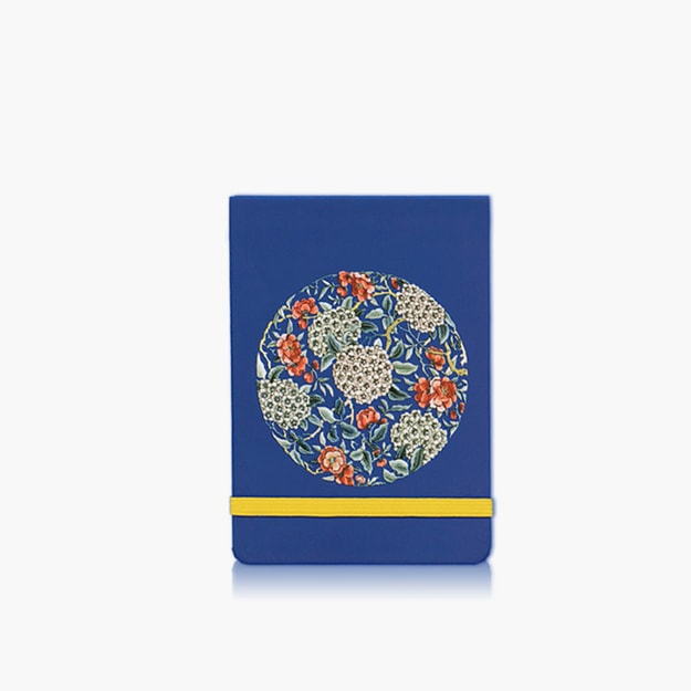 Product Detail - THE PALACE MUSEUM  Handbook # Happy Reunion Flower Embroidery Printing - image 0