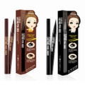 The ORCHID SKIN Lasting Pen Liner #01 Urban Chic Deep Black  Choco brown 1pc