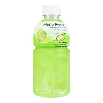 泰国MOGU MOGU 果汁椰果饮料 蜜瓜味 320ml