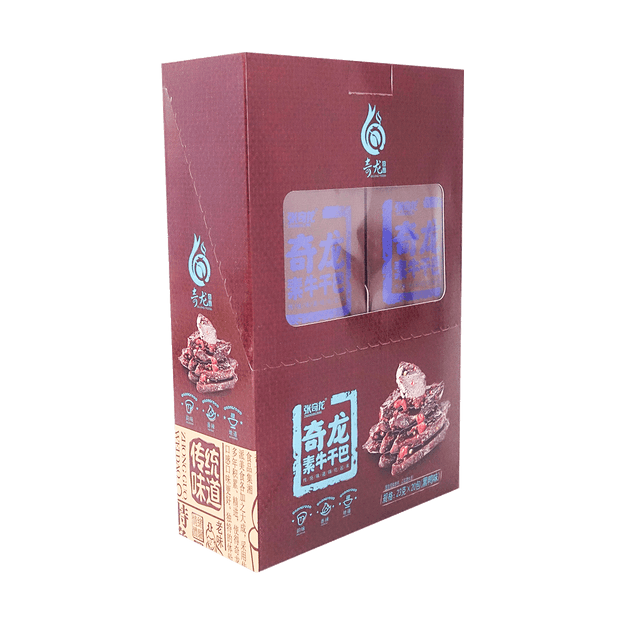 Product Detail - ZHANGQILONG Tofu Strips Braised Duck Flavor 460g - image 0
