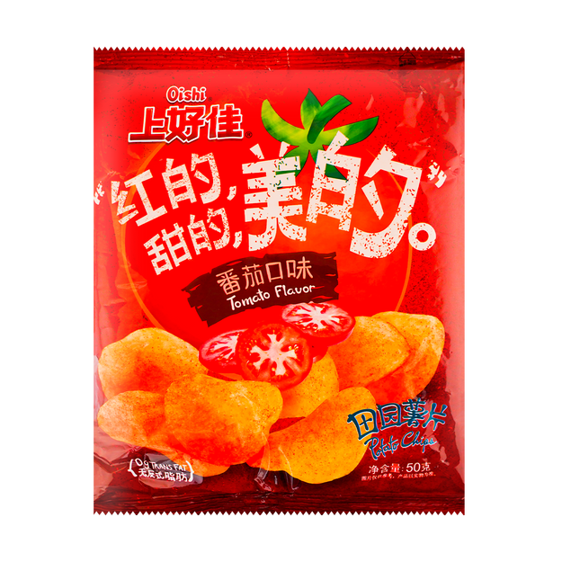 Product Detail - Potato Chips Tomato Ketchup Flavor 50g - image  0